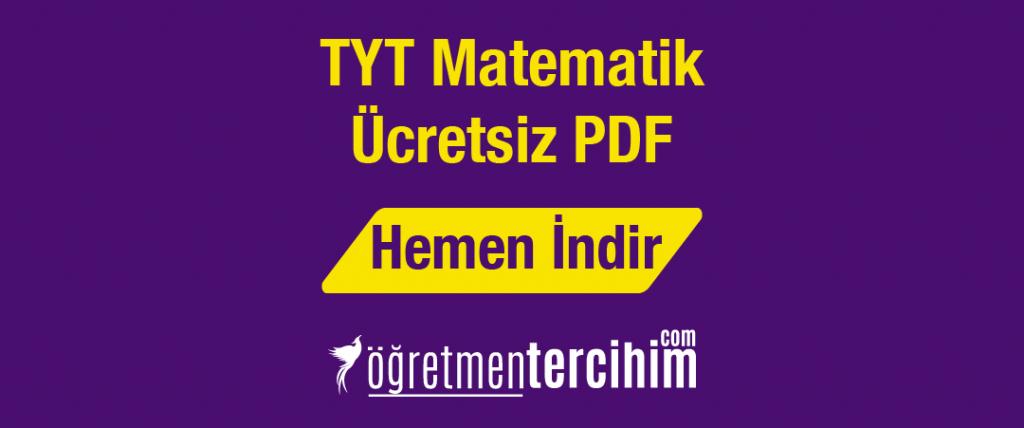 tyt matematik ücretsiz pdf