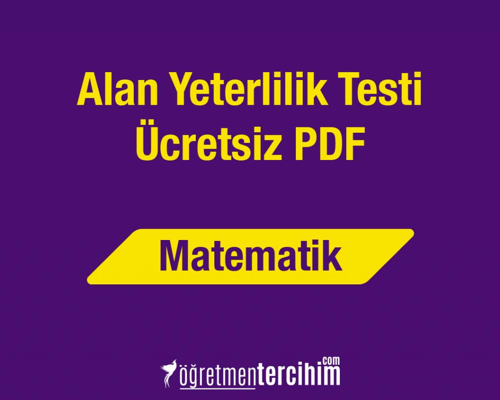AYT MATEMATİK ÜCRETSİZ PDF