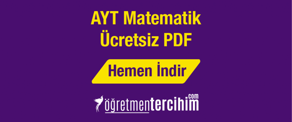 ayt matematik ücretsiz pdf