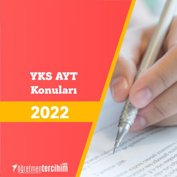 2021 YKS Konuları ve Soru Dağılım Tablosu