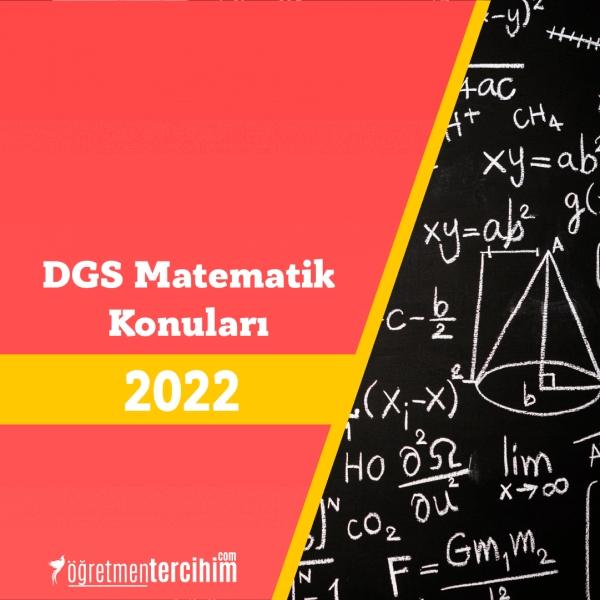 2021 DGS Matematik Konuları, DGS Geometri Konuları ve Soru Dağılımları