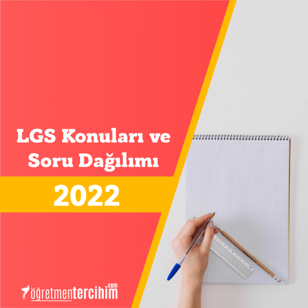 2022 LGS Konuları ve Soru Dağılım Tablosu