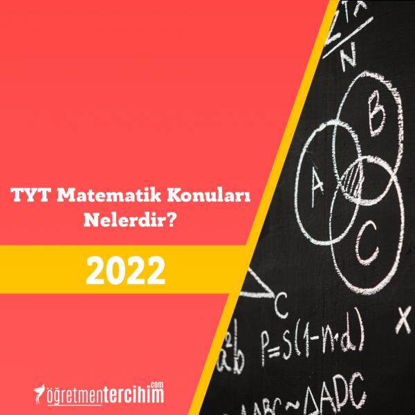 TYT Matematik Konuları ve Soru Dağılım Tablosu