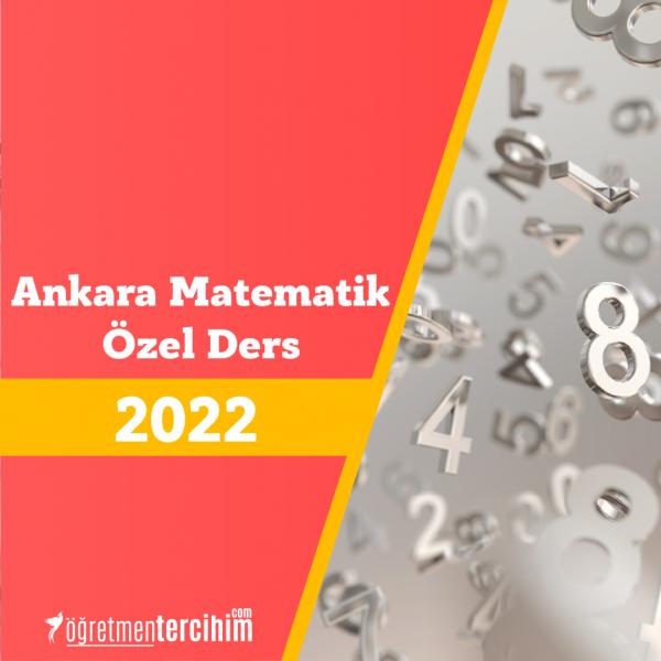 Ankara Matematik Özel Ders Almak İsteyenler