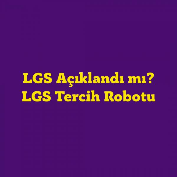 LGS 2021 Tercihleri Nasıl Yapılır? E-okul LGS Tercih Sayfası