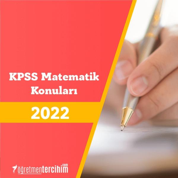 KPSS Matematik Konuları Nelerdir, Soru Dağılım Tablosu