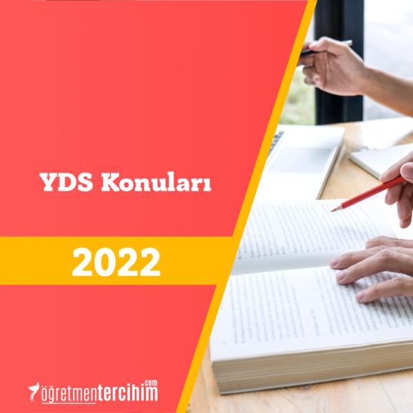 2021 YDS Konuları ve YDS Soru Dağılım Tablosu